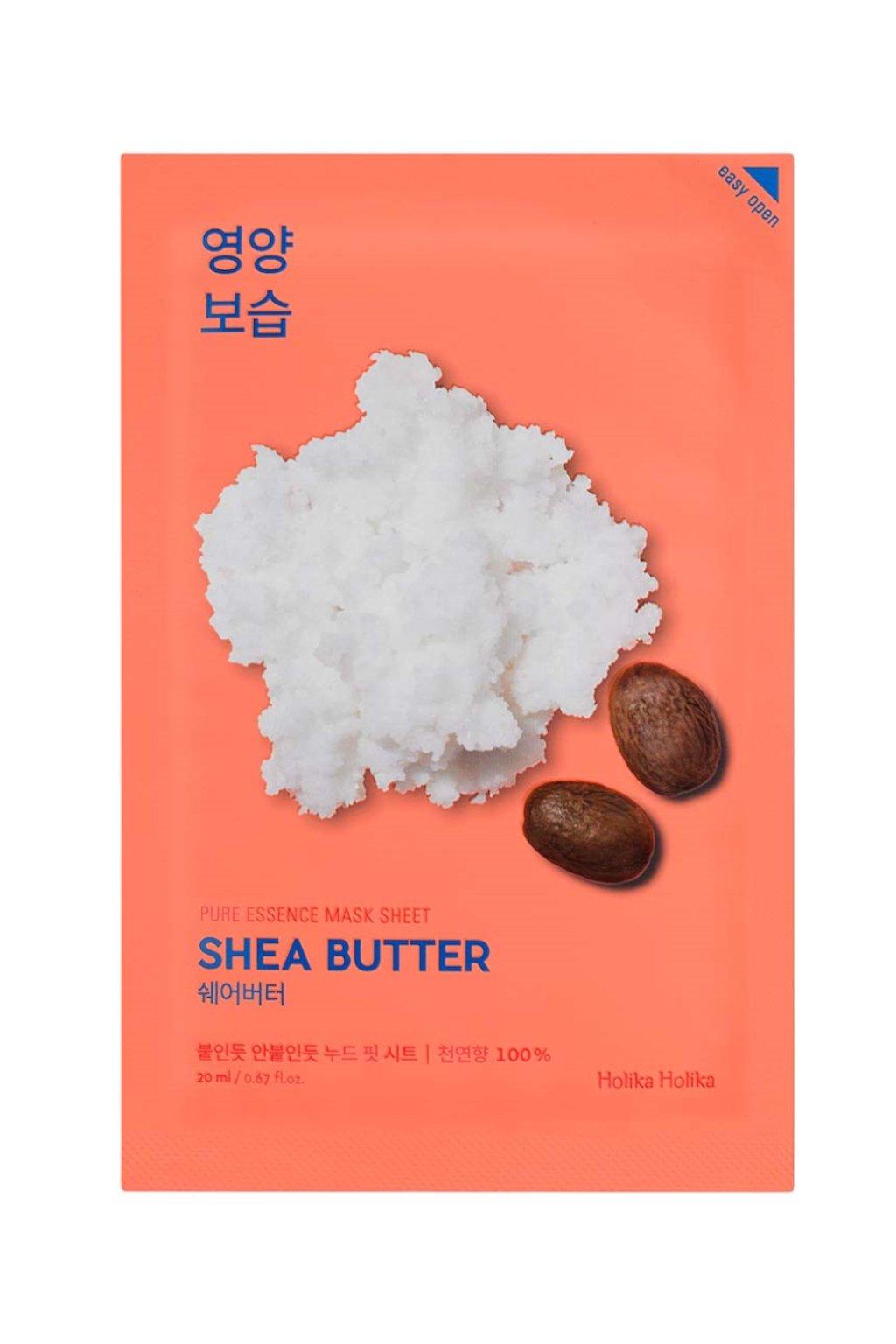 Holika Holika Pure Essence Shea Butter Mask 1024x1364