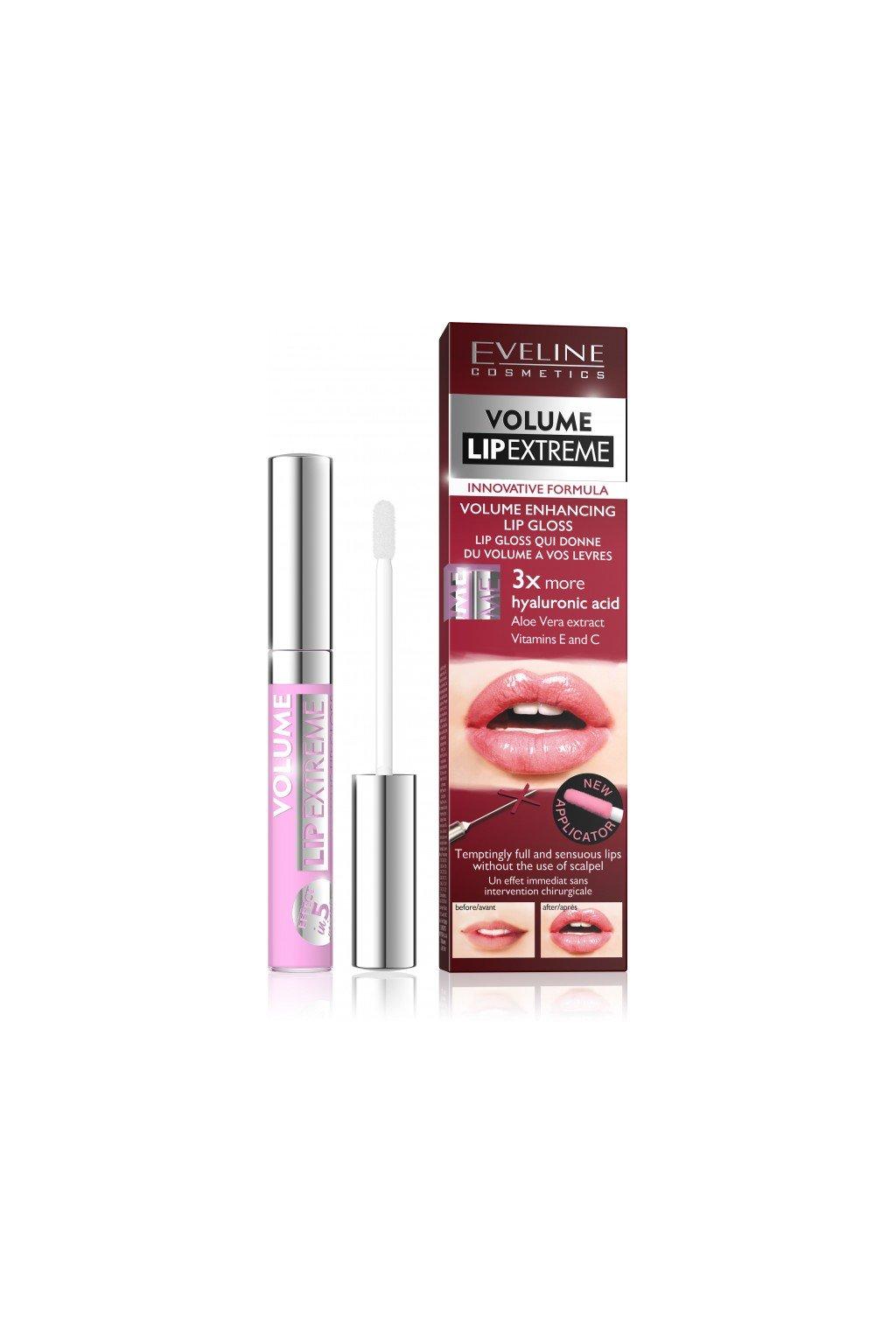 Eveline cosmetics Volume Lip Extreme lesk na rty no 501
