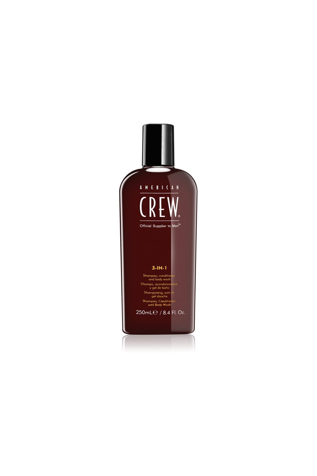 american crew hair body 3 in 1 sampon kondicioner a sprchovy gel 3 v 1 pro muze 250 ml