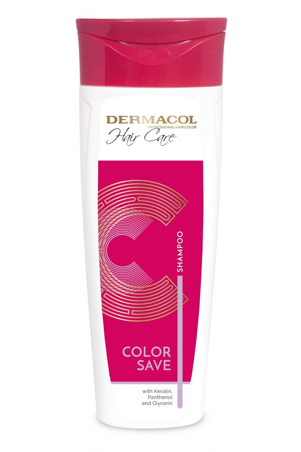 dermacol hair care color save sampon pro poskozene barvene vlasy