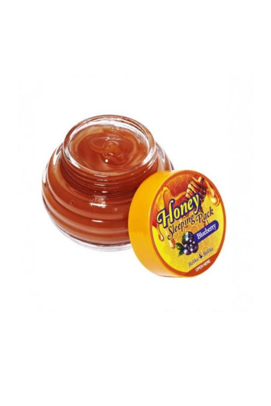 Holika Holika Honey Sleeping Pack bluberry