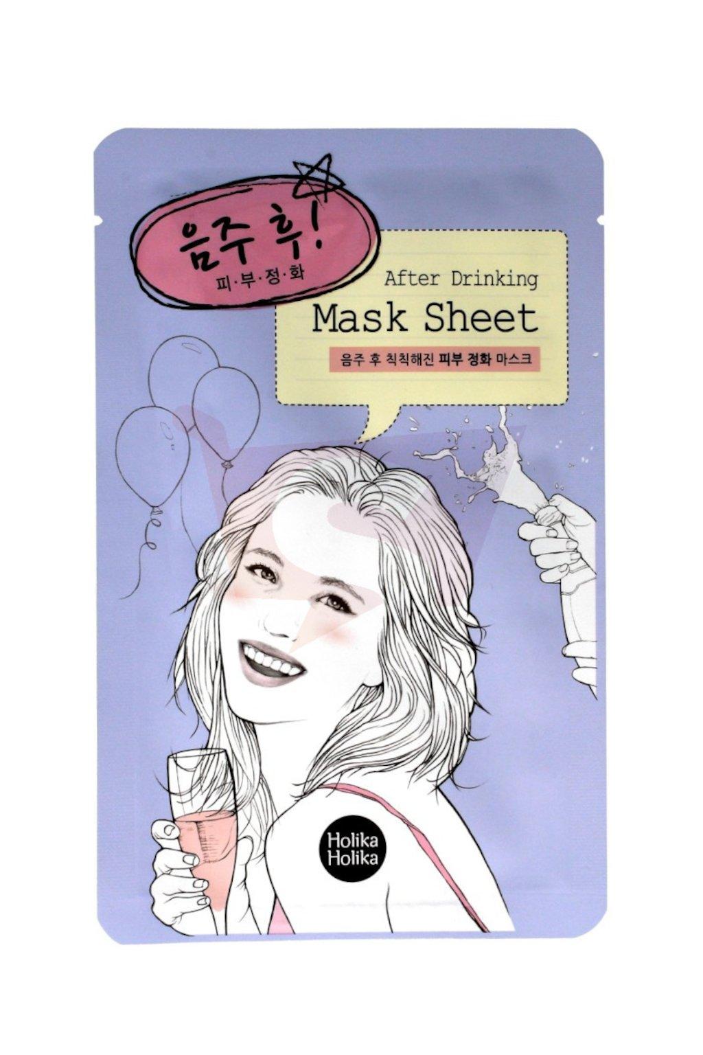 Holika Holika After Drinking Mask Sheet