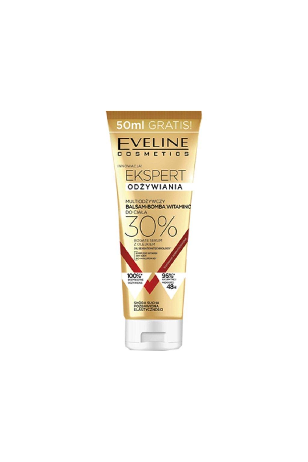 eveline cosmetics multivizivujuci telovy balzam