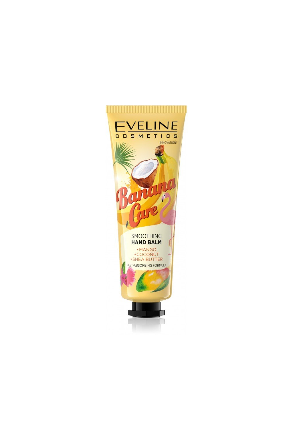 eveline cosmetics banana care krem na ruce mango a kokos 2