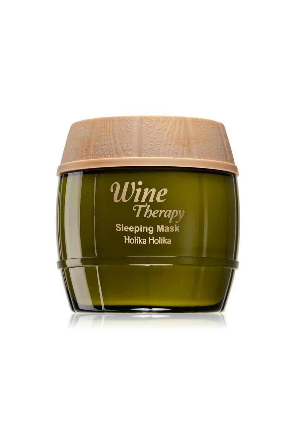 holika holika wine therapy nocni hydratacni maska jpg
