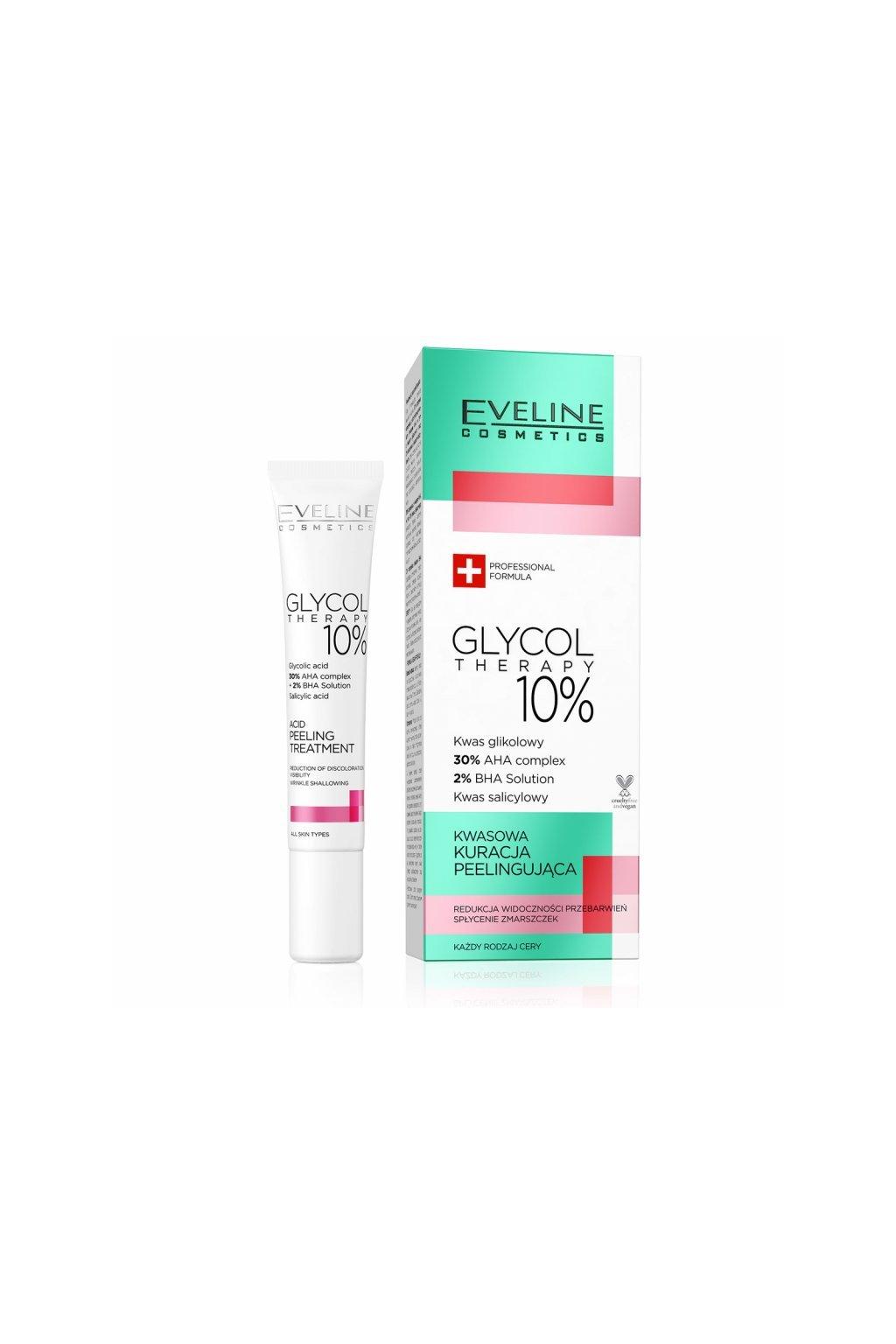 eveline cosmetics glycol therapy acid peeling treatment