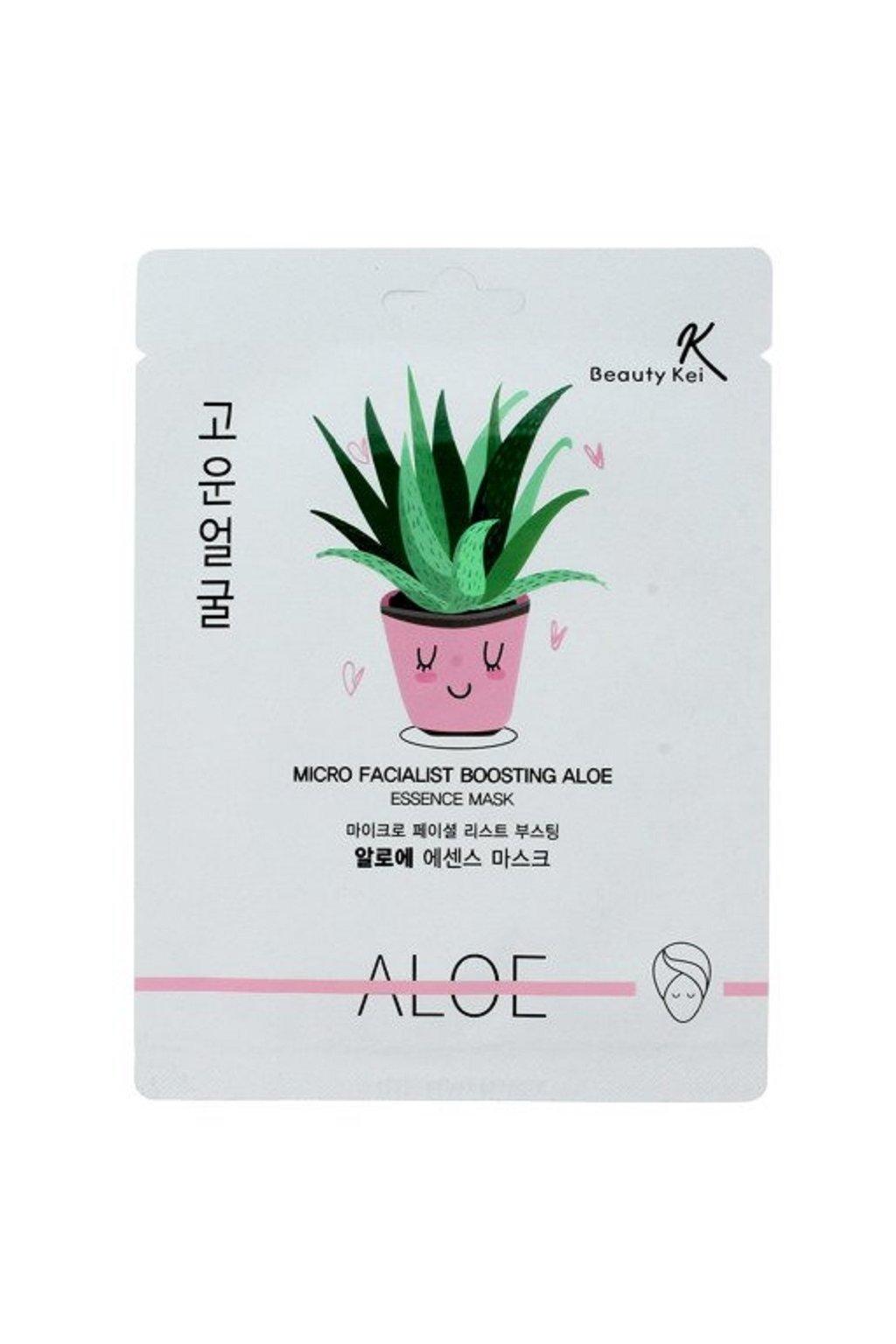 Beauty Kei hydratacni maska s Aloe 1 ks