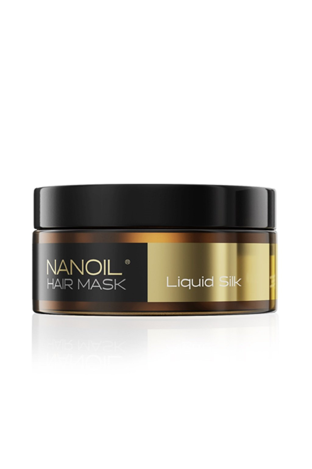 nanoul HAIR MASK maska na vlasy s tekutym hedvabim 300 ml 1