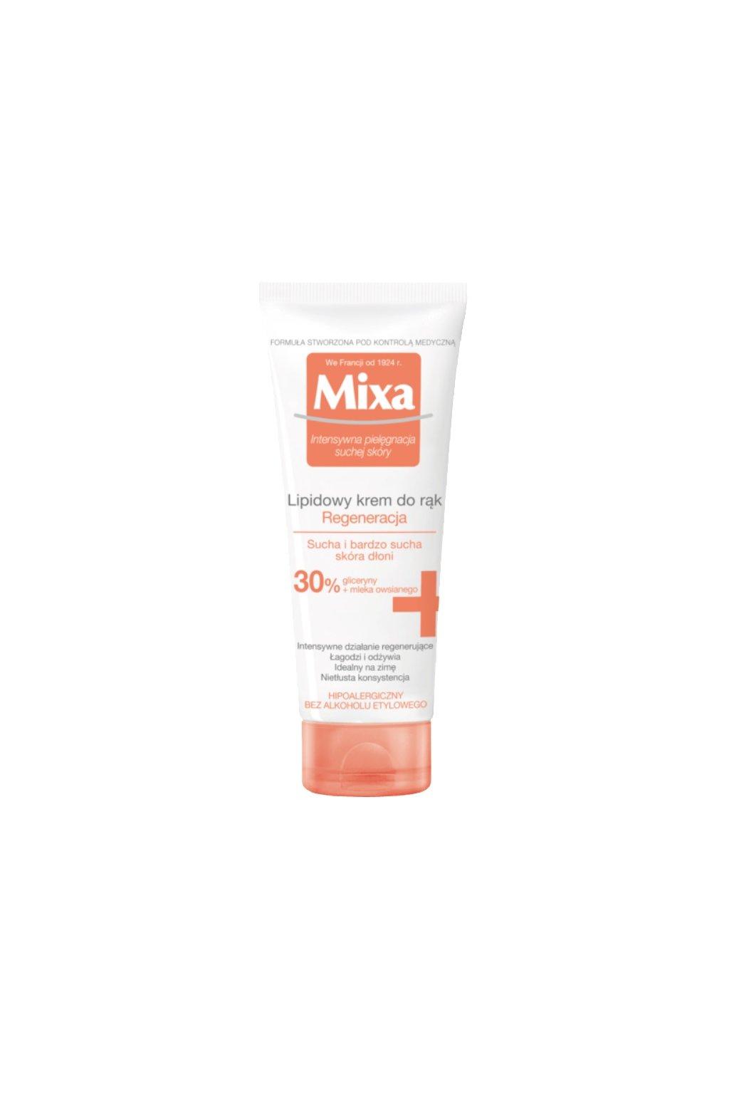 mixa anti dryness krem na ruce a nehty pro extra suchou pokozku 1