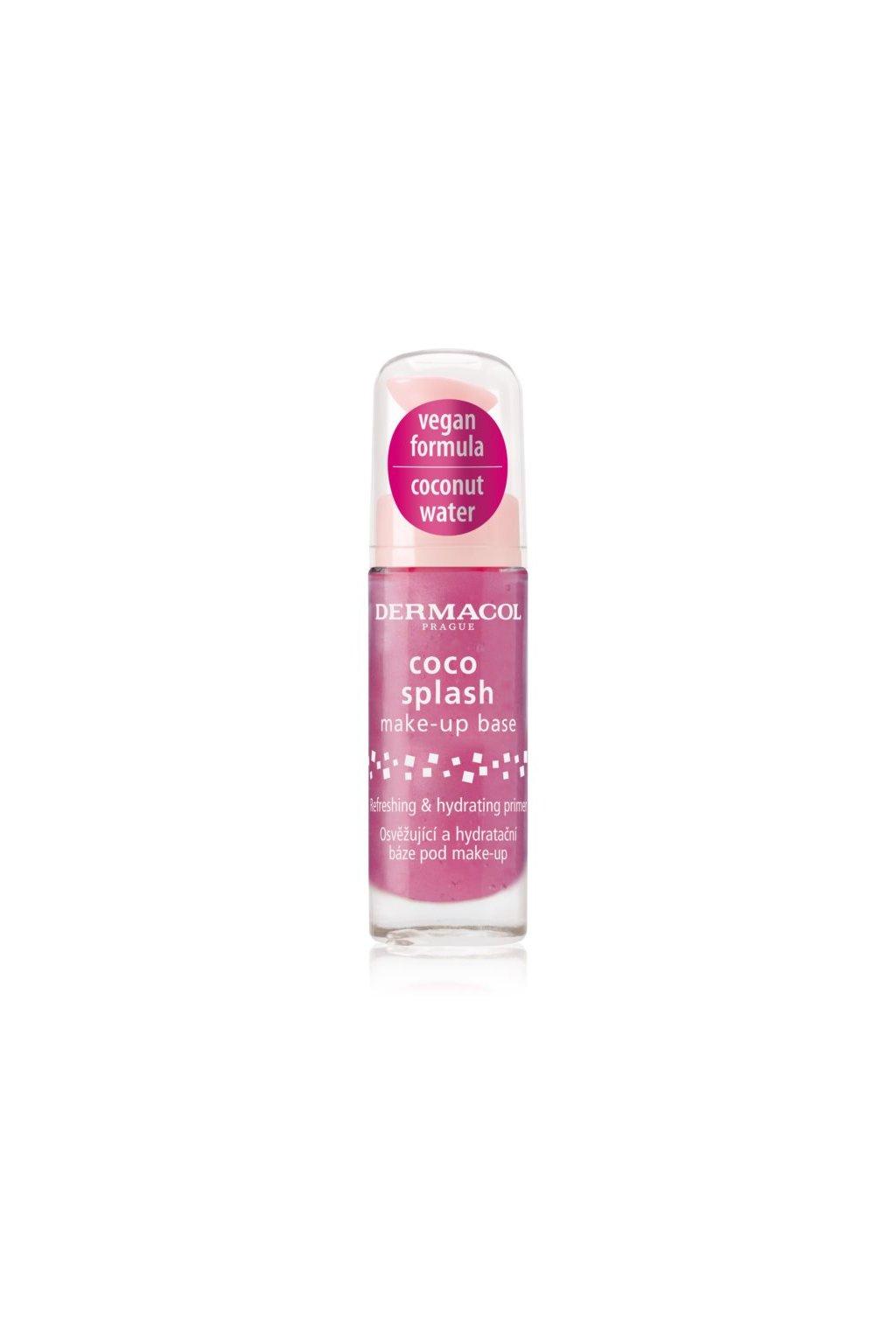 dermacol coco splash hydratacni podkladova baze podmake up