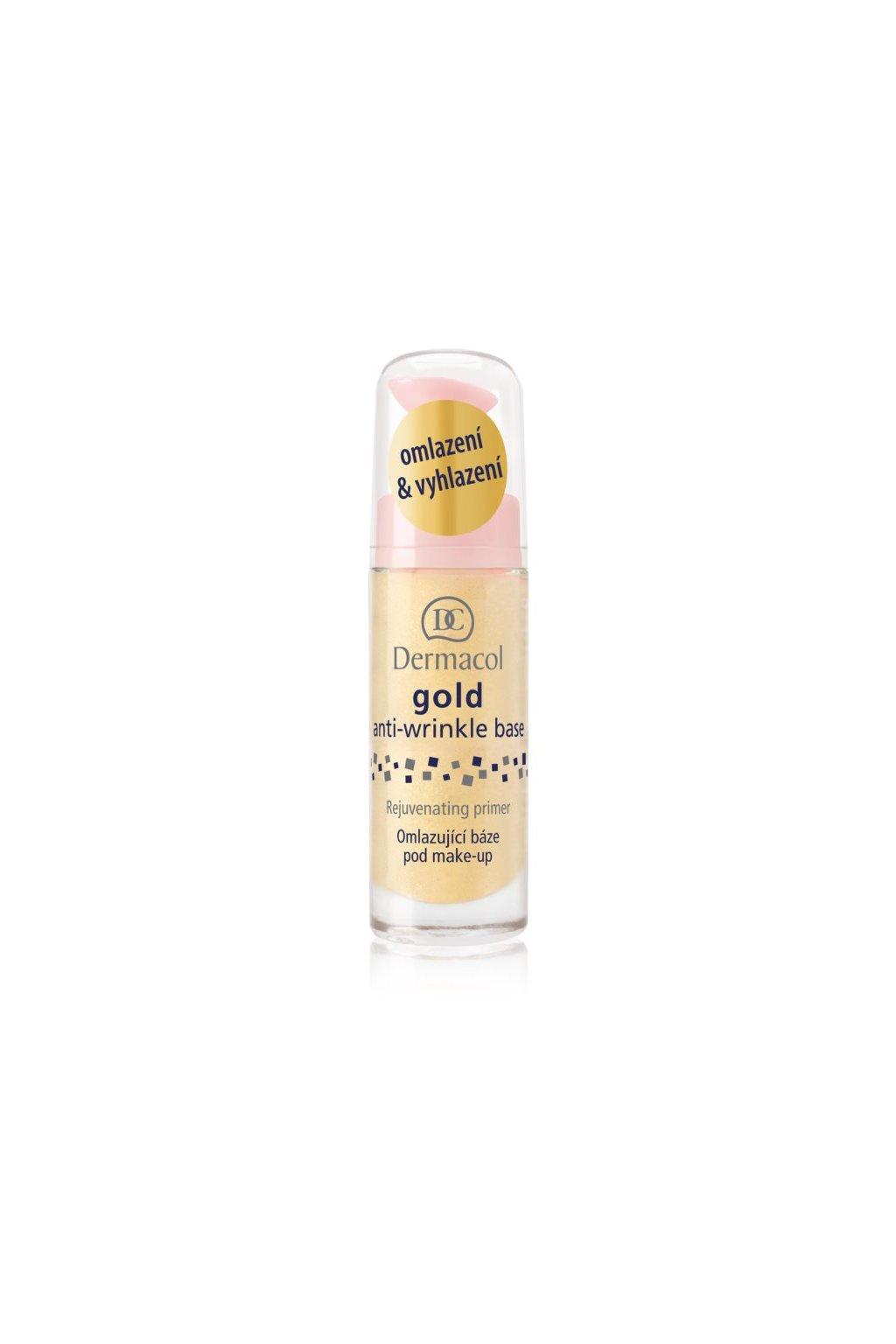 Dermacol Gold Anti-Wrinkle Base (Odstín 20 ml)