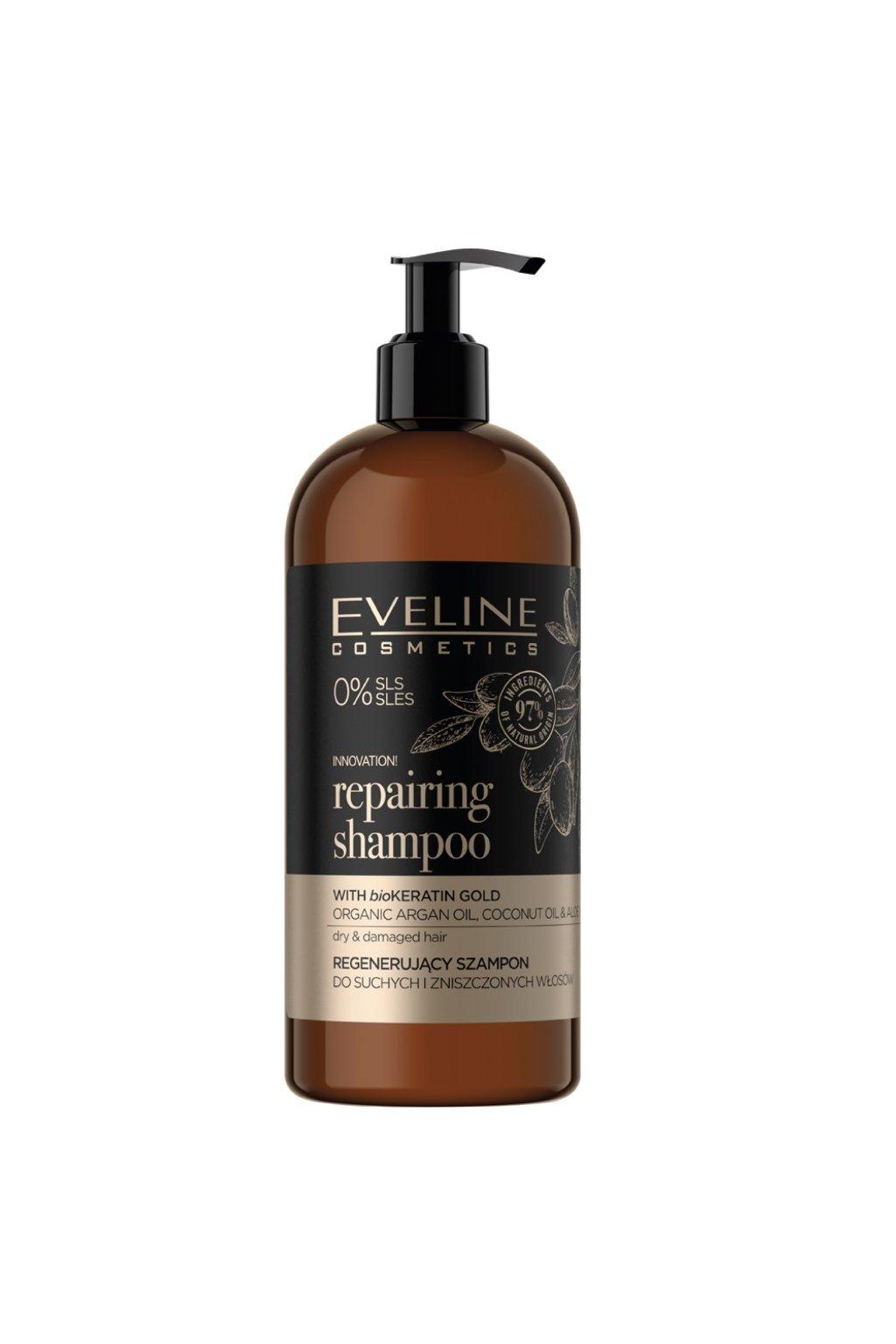 Eveline Cosmetics Organic Gold repairing shampoo 500 ml