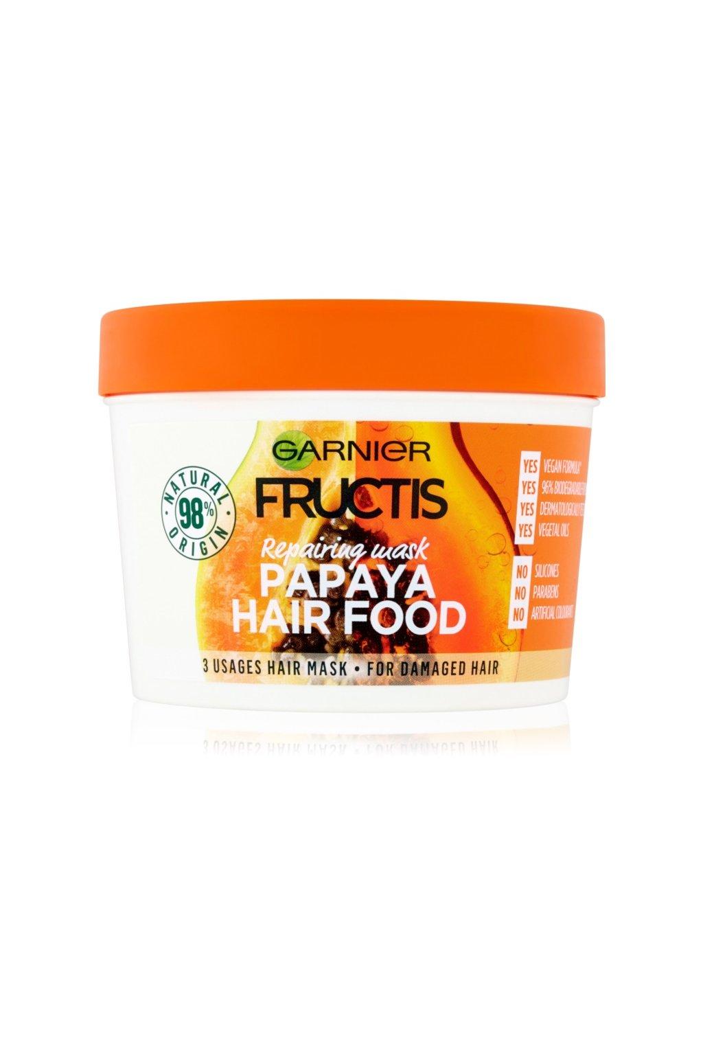 garnier fructis papaya hair food obnovujici maska pro poskozene vlasy