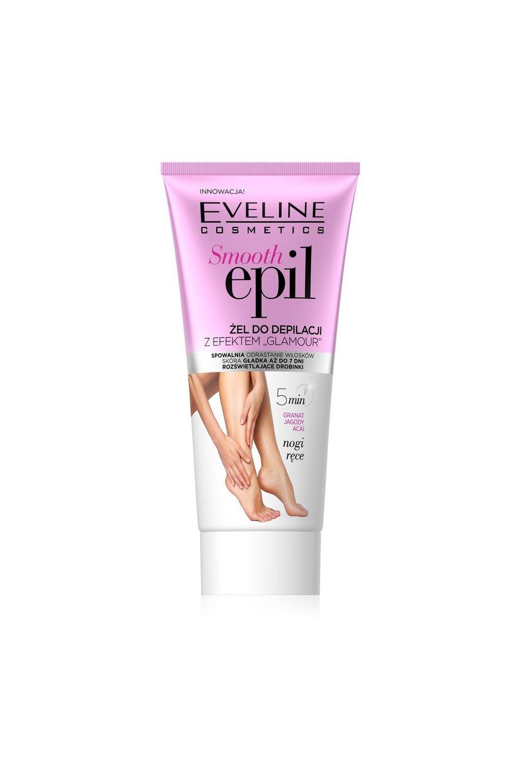 Eveline cosmetics Smooth Smooth Epil depilacní gel s glamour efektem 175ml 65508 1