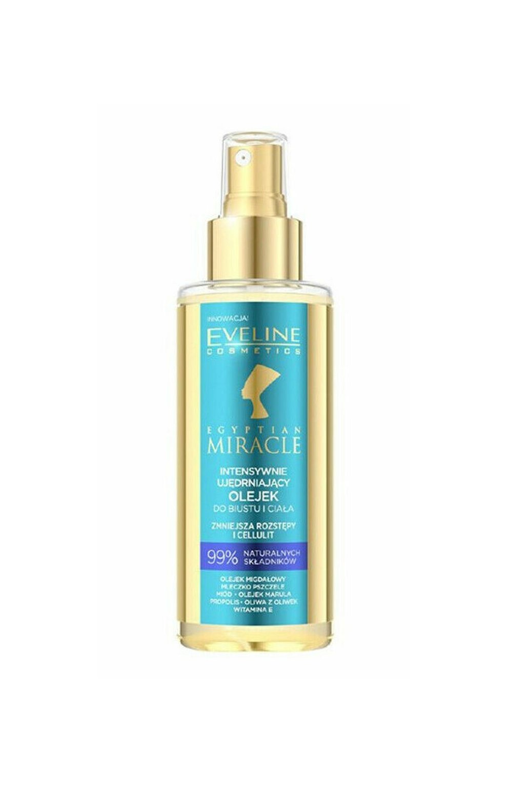 eveline egyptian miracle burst and body oil 150ml