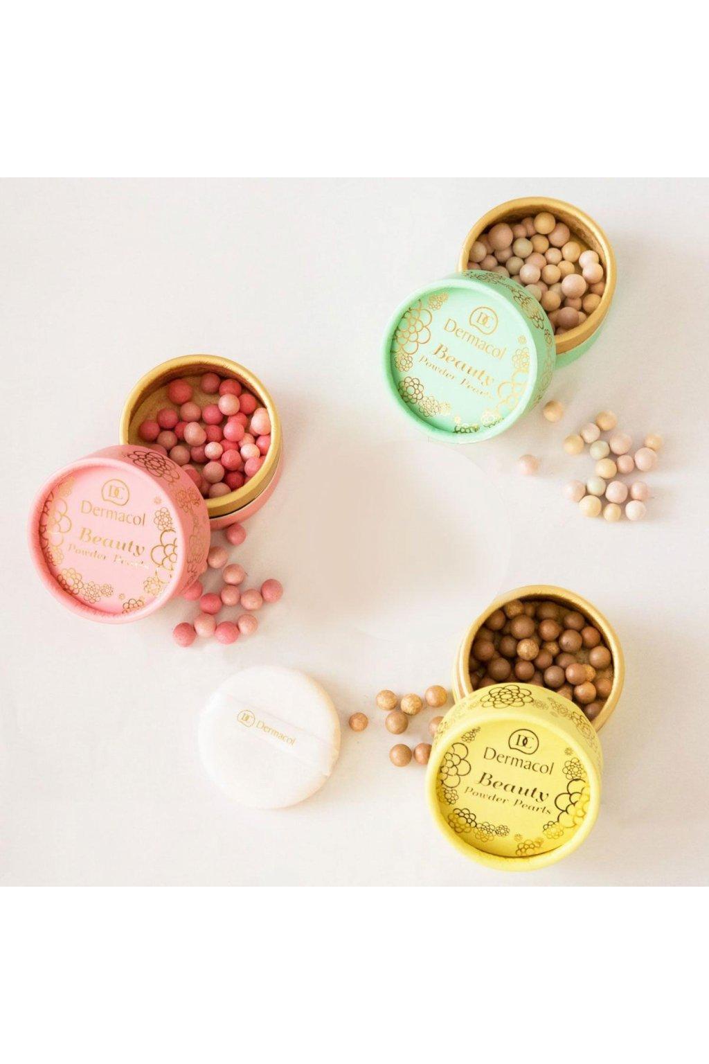 dermacol beauty powder pearls rozjasnovac pro zeny 25 g