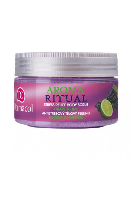 dermacol aroma ritual body scrub grape and lime telovy peeling na telo