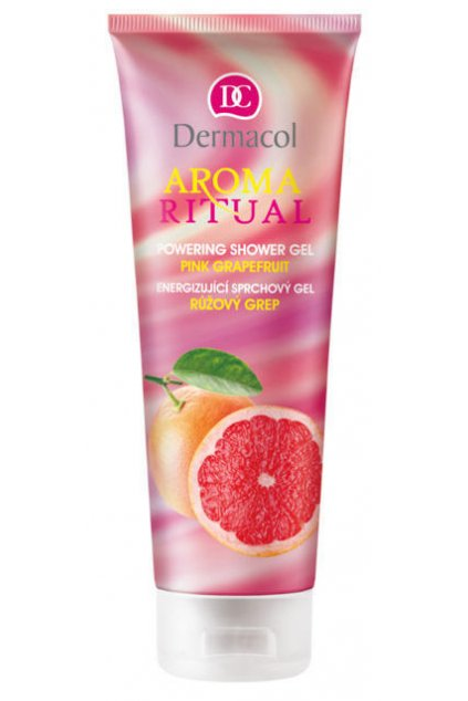 dermacol aroma ritual shower gel pink grapefruit sprchovy gel na telo