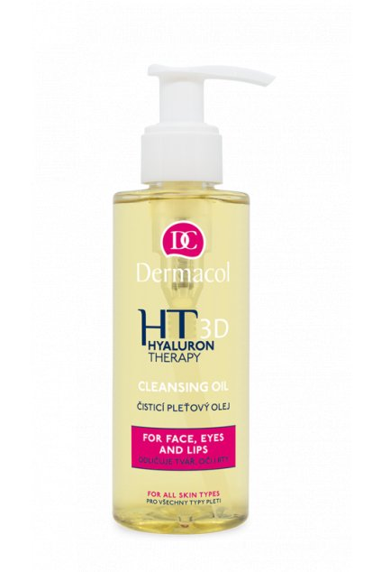 dermacol 3d hyaluron therapy cleansing face oil cistici pletovy olej