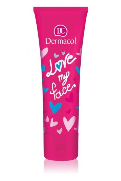 dermacol love my face rozjasnujici krem pro mladou plet na den i noc