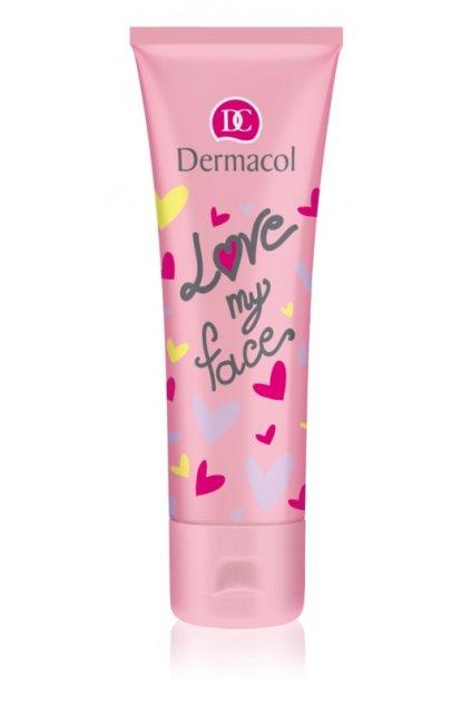 dermacol love my face zklidnujici krem pro mladou plet na den i noc