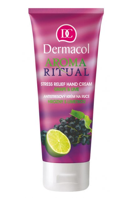 dermacol aroma ritual hand cream grape a lime antistresovy krem na ruce