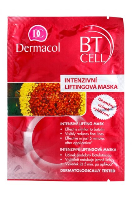 dermacol bt cell intenzivni liftingova maska jednorazova 25