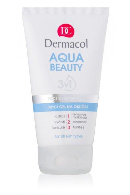 dermacol aqua beauty myci gel na oblicej 3 v 1 5