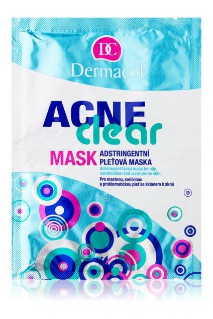 dermacol acneclear pletova maska pro problematickou plet akne 25