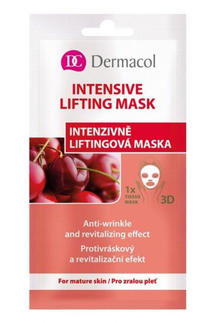 dermacol intensive lifting mask textilni 3d liftingova maska 15