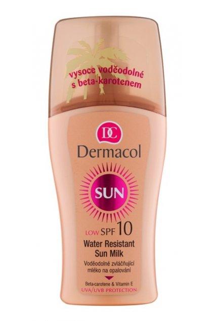 dermacol sun water resistant vodeodolne mleko na opalovani spf 10 25