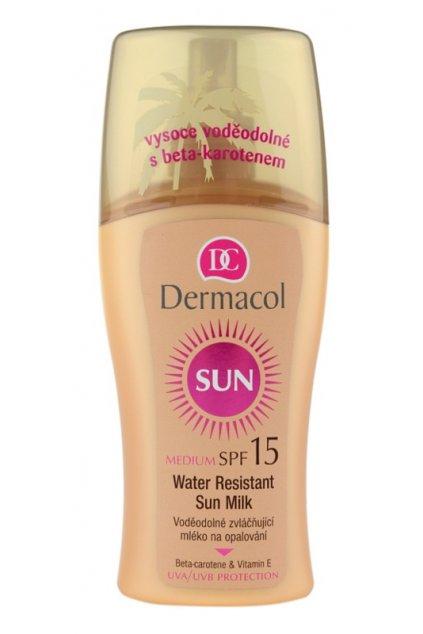 dermacol sun water resistant vodeodolne mleko na opalovani spf 15 24