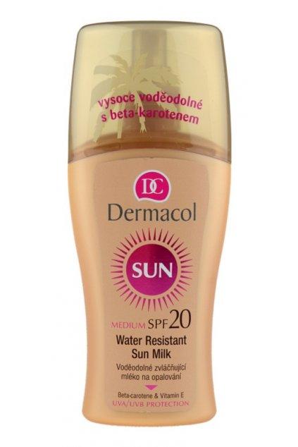 dermacol sun water resistant vodeodolne mleko na opalovani spf 20 24