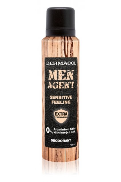 dermacol men agent sensitive feeling deodorant ve spreji 5