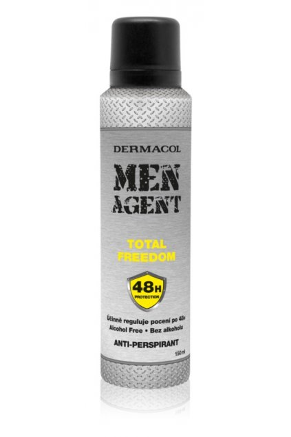 dermacol men agent total freedom antiperspirant ve spreji 5