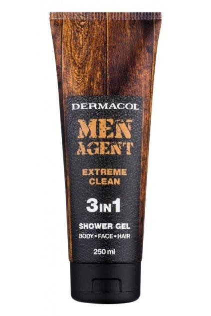 dermacol men agent extreme clean sprchovy gel 3 v 1 11