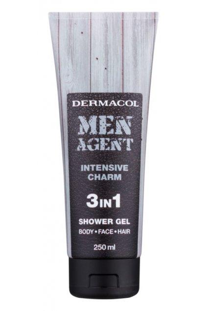 dermacol men agent intensive charm sprchovy gel 3 v 1 11