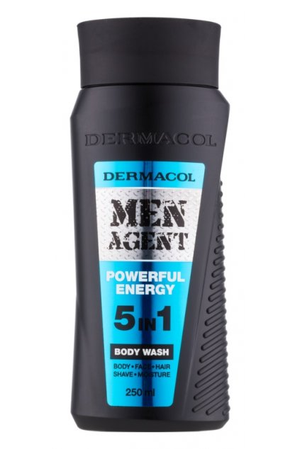 dermacol men agent powerful energy sprchovy gel 5 v 1 11