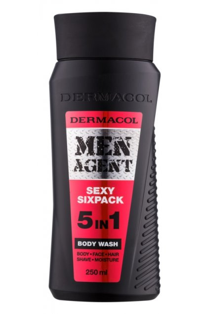 dermacol men agent sexy sixpack sprchovy gel 5 v 1 10
