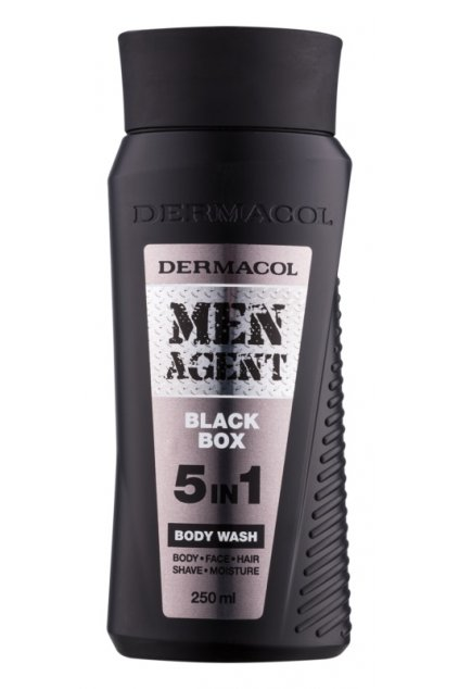 dermacol men agent black box sprchovy gel 5 v 1 12