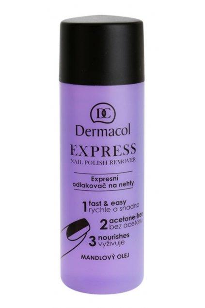 dermacol express odlakovac na nehty bez acetonu