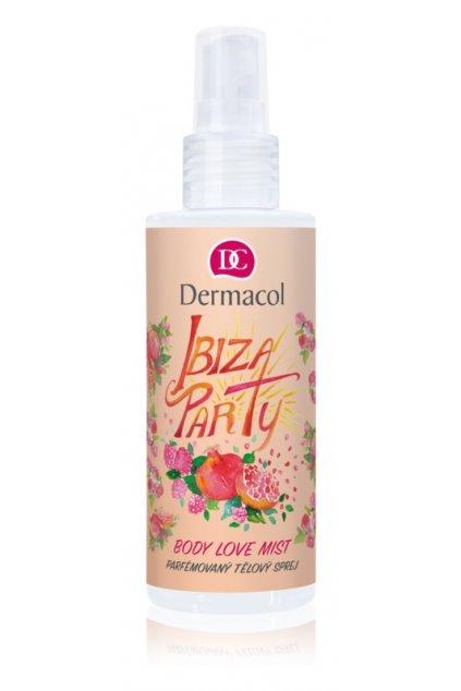 dermacol body love mist ibiza party parfemovany telovy sprej