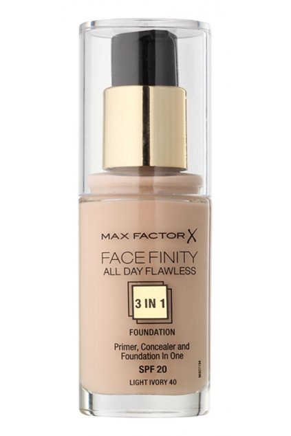 max factor facefinity ligh ivory 40 make up 3 v 1 13
