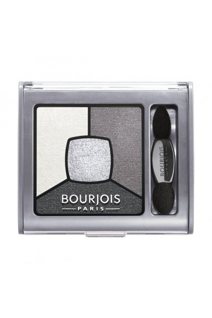 Bourjois Smoky Stories Quad Eyeshadow Palette (Odstín 01 Grey Night 3,2 g)