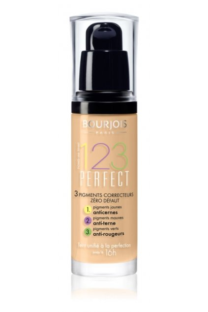 Bourjois 123 Perfect Makeup (Odstín č. 52 Vanille 30 ml)