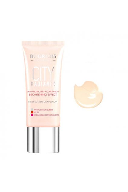 Bourjois City Radiance Makeup (Odstín 01 Rose Ivory 30 ml)