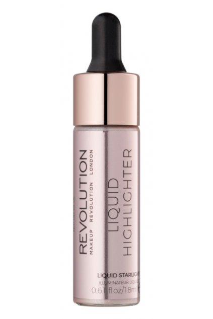 Make-up Revolution Liquid Highlighter (Odstín Liquid Starlight 18 ml)