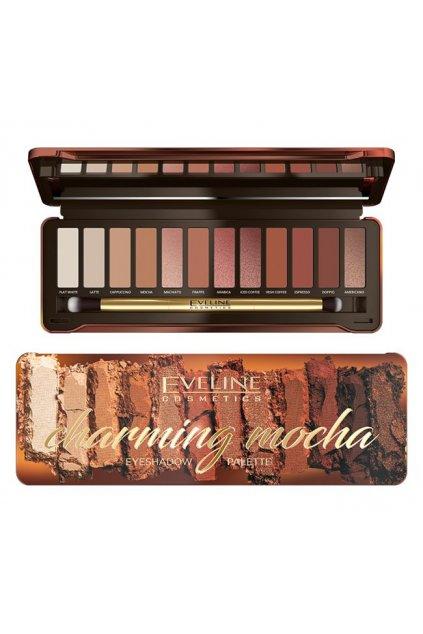 eveline cosmetics charming mocha paleta ocnich stinu 12g