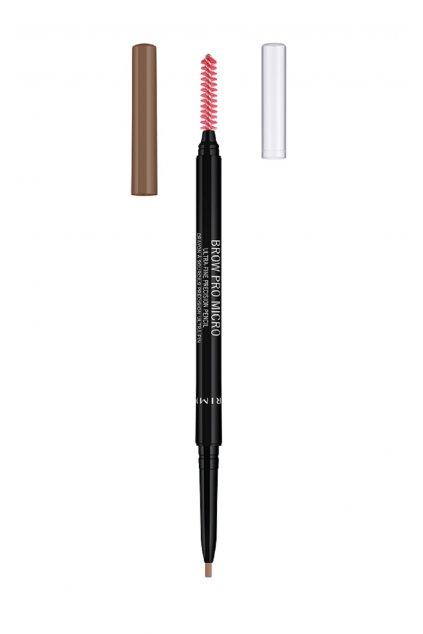rimmel vodeodolna tuzka na oboci brow pro micro ultra fine precision pencil 001 09 g