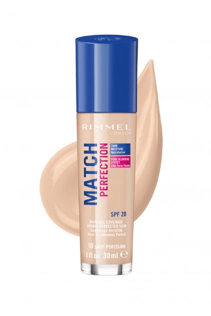 rimmel match perfection make up light porcelain 10